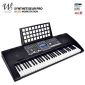 Synthetiseur Electrique Clavier Piano 61 Touches Midi Usb