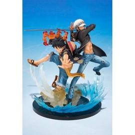 Figurine One Piece - Monkey.D.Luffy & Trafalgar.Law 5th Anniversary Figuarts Zero