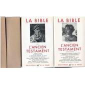 La Bible - Ancien Testament de pleiade
