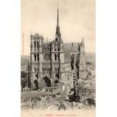 Carte Postale Ancienne - Amiens - Cath�drale � Vol D'oiseau