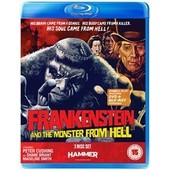 Frankenstein And The Monster From Hell (Dvd + Blu-Ray) de Terence Fisher