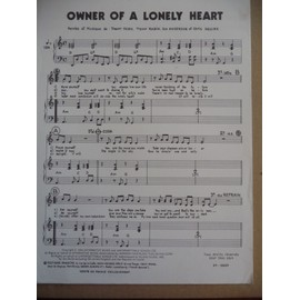 Owner of a lonely Heart Jon Anderson