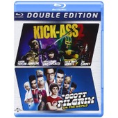 Kick-Ass 2 / Scott Pilgrim (2 Blu-Ray) de Jeff Wadlow, Edgar Wright