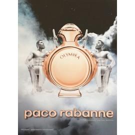 * Collector * Olymp�a De Paco Rabanne - Publicit� De Parfum - Pac26