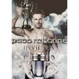 Invictus De Paco Rabanne Publicit� De Parfum - Pac21