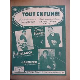 TOUT EN FUMEE, Georges Blaness, Burt Blanca, Jennifer