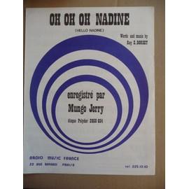 OH OH OH NADINE (hello nadine) Mungo Jerry