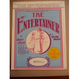THE ENTERTAINER SCOTT JOPLIN piano
