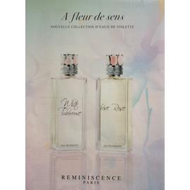 A Fleur De Sens De Reminiscence - Publicit� De Parfum - Rem10