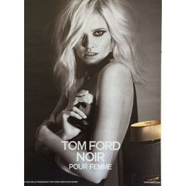 Tom Ford Noir Pour Femme De Tom Ford - Publicit� De Parfum - Tom06
