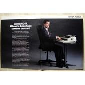 Publicit� Papier - Machine � �crire Rank Xerox 6015 De 1986