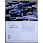 Publicit� Papier - Voiture Chrysler Voyager De 2000