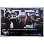 Publicit� Papier - Voiture Ford Galaxy De 2001