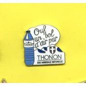 Rare Pins Eau Thonon Egf Fb686