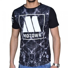 So Hype - Tshirt Manches Courtes - Homme - Motown - Noir