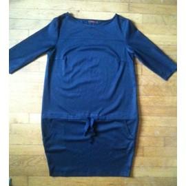 Robe Bleu Nuit Fragile