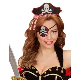Serre T�te Et Cache Oeil Sexy Pirate Femme