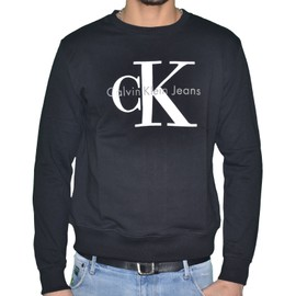 Calvin Klein - Sweat Shirt - Homme - 90's Sweat Shirt J3ij302252 - Noir