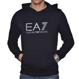 Ea7 - Sweat � Capuche - Homme - Visibility Hoodie Coft - Noir