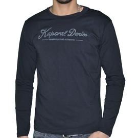 Kaporal - T-Shirt Manches Longues - Homme - York - Noir