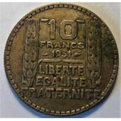 10 Francs Turin Argent 1931 (4)