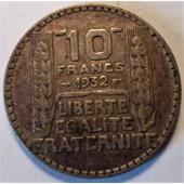 10 Francs Turin Argent 1932 (3)