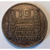 10 Francs Turin Argent 1932 (4)
