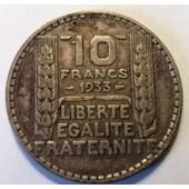 10 Francs Turin Argent 1933 (2)