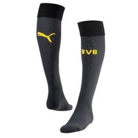 2015-2016 Borussia Dortmund Home Goalkeeper Puma Socks (Ebony)