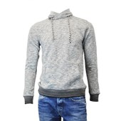 Pull Sweat Sienne Teddy Smith Gris Anthracite