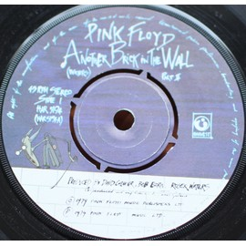 Another Brick In The Wall (Part II) / One Of My Turns - 45rpm U.K.