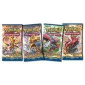 Lot De 4 Boosters Pok�mon Xy Rupture Turbo Vf