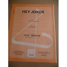HEY JOKER Yves Martin