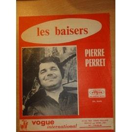 """Partition ancienne de Pierre Perret """" Les Baisers """""""