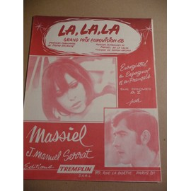 LA,LA, LA   MASSIEL, J.Manuel Serrat