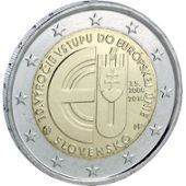 2 Euro Comm�morative De Slovaquie De 2014
