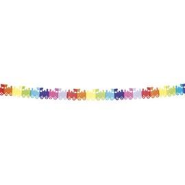 Guirlande Multicolore Papier Train 4 M�tres