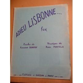 Pierre Miguel - Adieu Lisbonne