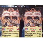 Place Concert Michaek Jackson Dangerous World Tour 1992