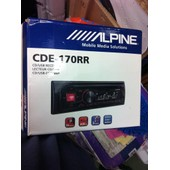 Autoradio Mp3 Alpine Cde-170rr
