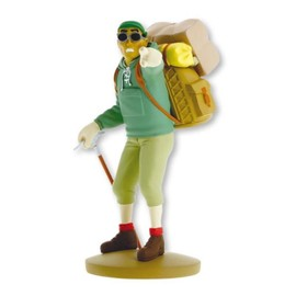 Figurine Collection Officielle Aventures De Tintin D'herg� Moulinsart N�109 - Tharkey Le Fid�le She