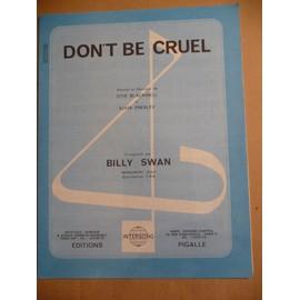 DON'T BE CRUEL Billy Swan