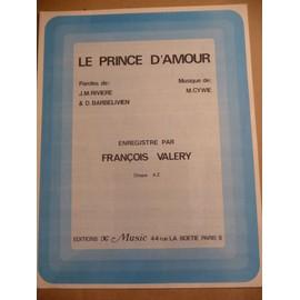 LE PRINCE D'AMOUR François Valery