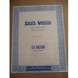 SANTA MONICA Les Watson