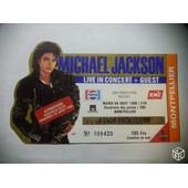 Billet Concert Michael Jackson Montpellier