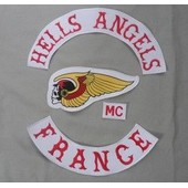 Kit Dorsal Hells Angels Patch Ecusson