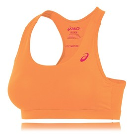 Asics Femmes Orange Motion Dry Dos Nageur Gym Soutien Gorge Brassi�re