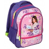 Violetta Sac � Dos Scolaire Cartable �cole Fille Enfant Disney - Violet