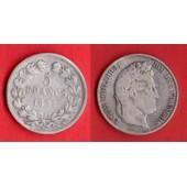 5 Francs Louis Philippe I 2e Type 1833 W En Argent France