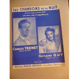 LES CHANSONS DE LA NUIT Charles Trenet